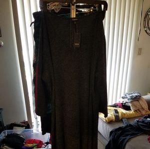Torrid size 4 grey high low dress